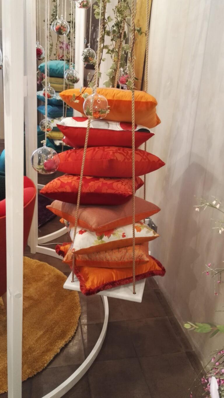 Cuscini arancio